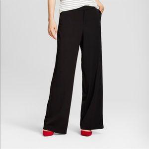 A•New•Day Wide Leg Bi-Stretch Twill Pants